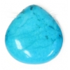 Turquonite Stabilized 19x19mm Drop Semi-Precious